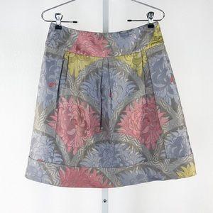 Anthropologie Leifsdottir Silk Blend Floral Print
